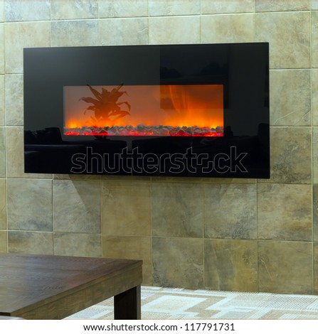 Interior of a new apartment in the lobby - stock photo