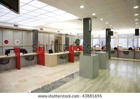 interior of a registration room