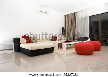 Interior of an apartment - stock photo