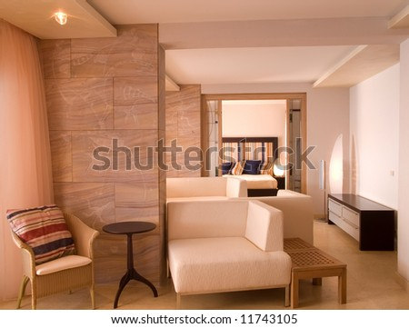 interior of apartment