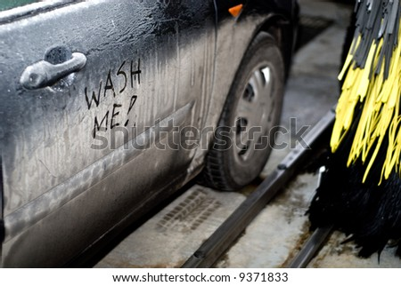 Wash Me Car Stock Images Royalty Free Images Vectors Shutterstock