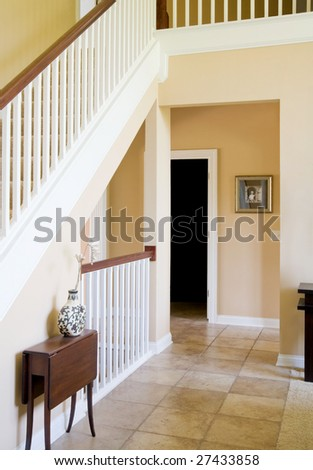 Interior of Expensive House - stock photo