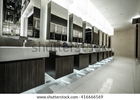 Interior of Hotel corridor for wedding set up with white gauze, romantic background.