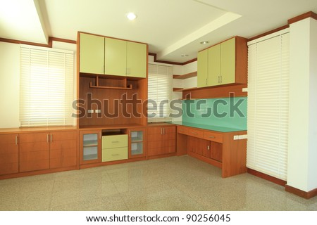 Interior of living room - stock photo