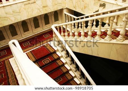 Interior of luxurious house. - stock photo