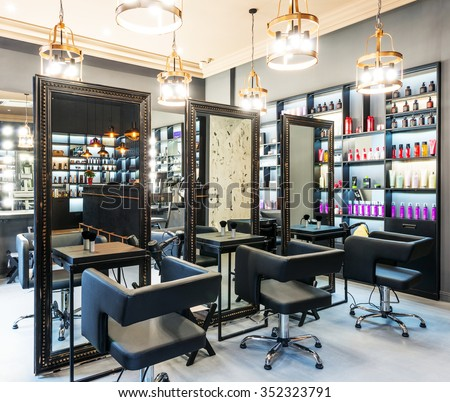 interior of luxury beauty salon - Beauty Salon Interior Design Ideas