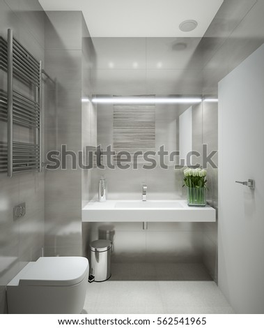 Modern Bathroom Stock Images Royalty Free Images Vectors