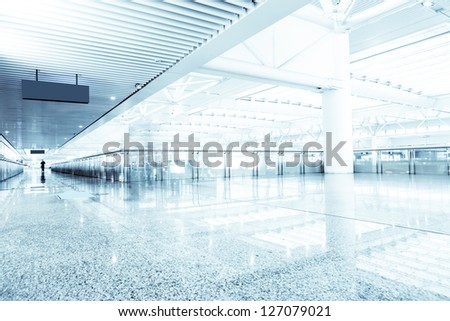 interior of modern office - stock photo