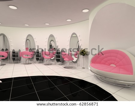 Beauty salon interior Stock Photos, Beauty salon interior Stock