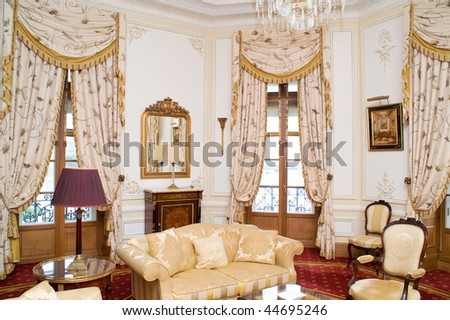 interior of room, nobody, indoor - stock photo