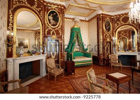 Interior Royal Castle Warsaw Residence Polish Stock Photo