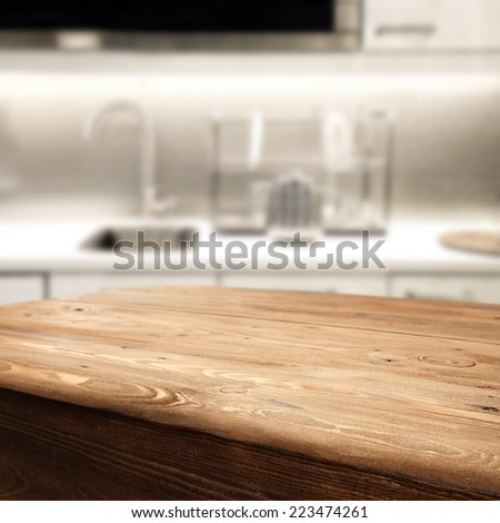 interior of white kitchen place  - stock photo