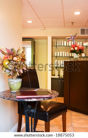 Interior Room-Reception Area - stock photo