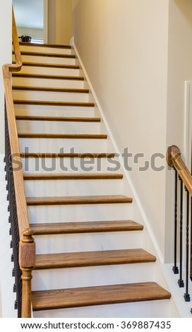Stair treads stock images royalty free images vectors - Interior stair treads and risers ...