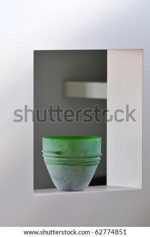 interior vase - stock photo