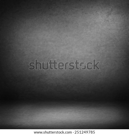 interior wall background suede paper texture in black and white, shadow vignette in the corners wallpaper - stock photo