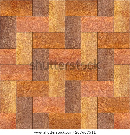 Interior Wall Panel Pattern Parquet Flooring Stock Illustration