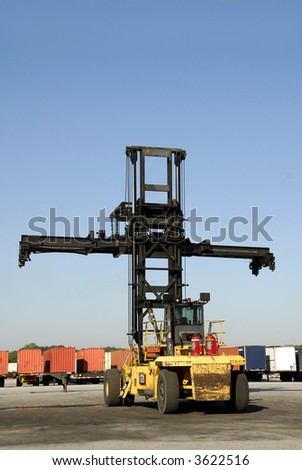 Intermodal Container Stacker