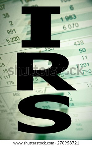 Internal Revenue Service (IRS) - stock photo