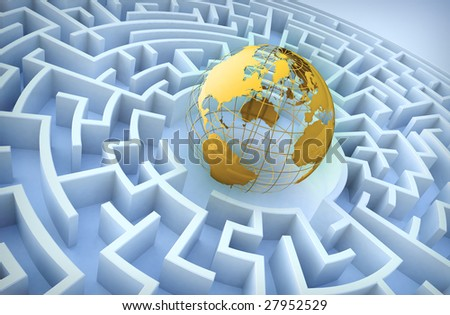 International cooperation concept. - stock photo