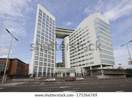 International Criminal Court (ICC) in The Hague, Holland - stock photo