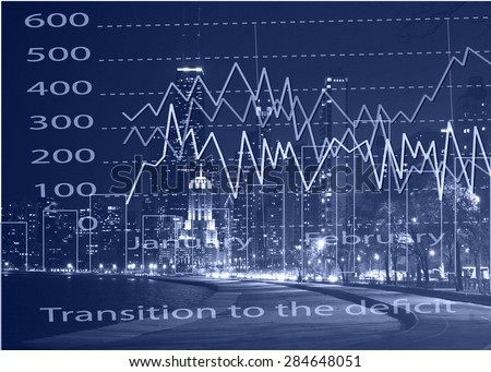 International financial consulting concept.  - stock photo