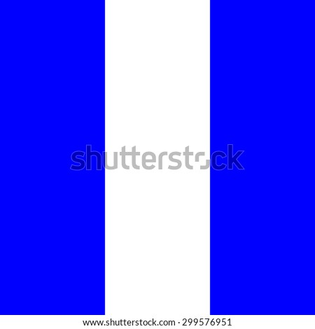 International maritime signal flags sea alphabet collection number 9 - stock photo