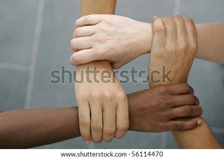 International Teamwork - stock photo