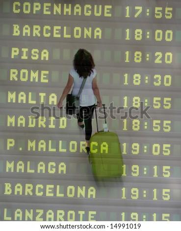 International Traveler - stock photo