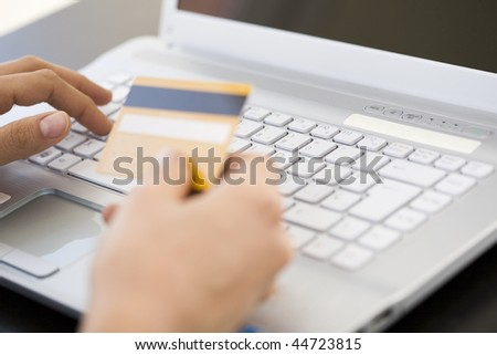 Internet banking - stock photo