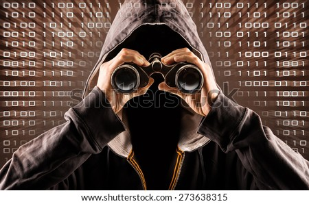 internet hacker - stock photo