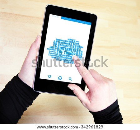 internet of things - stock photo
