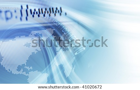 Internet surfing - stock photo
