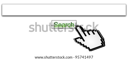 Internet web search engine - stock photo