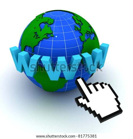 Internet World Wide Web Concept - stock photo
