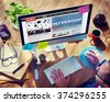 Internship Skills Temporary Management Trainee Concept - stock photo