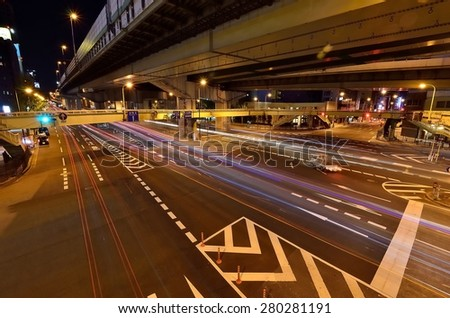 Intersection - stock photo