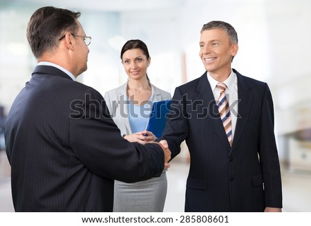 Interview, Job Interview, Handshake.