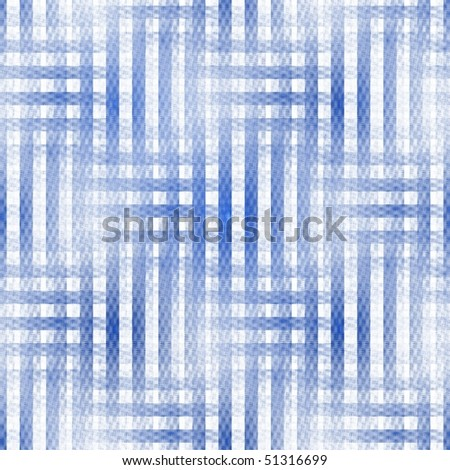 Intricate blue and white abstract woven fractal