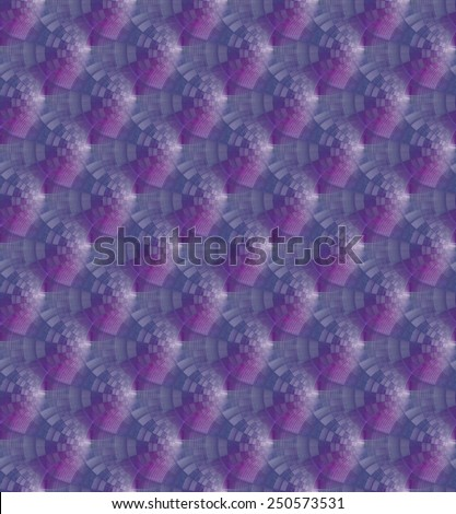 Intricate magenta / blue tiled ripples on white background (tile able)  - stock photo
