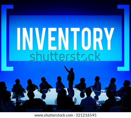 Inventory Manufacturing Logistic Reserves Concept - stock photo