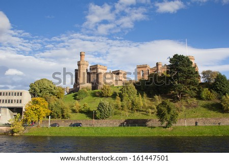 Inverness Castle - stock photo