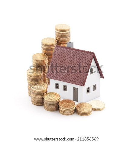 Invest in real estate concept - stock photo