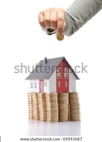 Invest in real estate concept. - stock photo