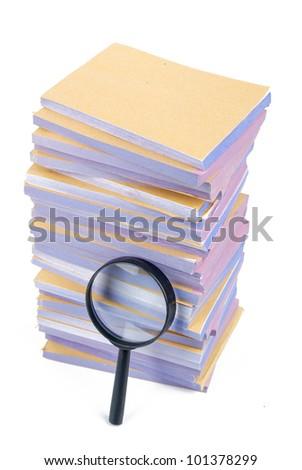 Investigation - stock photo
