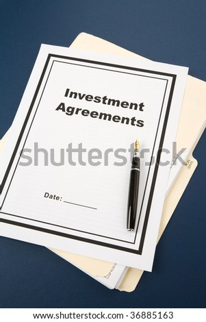 Release Contract Detail Ballpen Stock Photo   Shutterstock