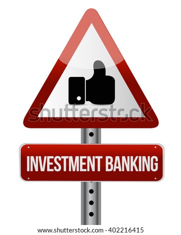 investment banking like sign concept illustration design graphic - stock photo