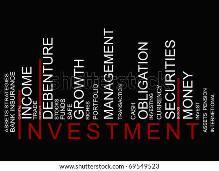 investment bar-code - stock photo