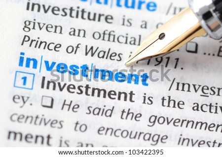 Investment - Dictionary Series