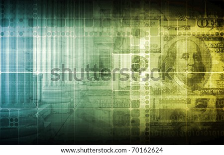 Investment in Financial Returns as a Abstract - stock photo